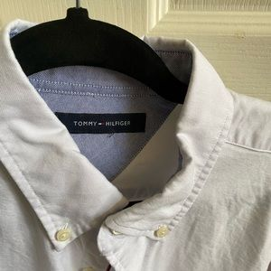 Size medium Mens button down shirt by Tommy Hilfiger